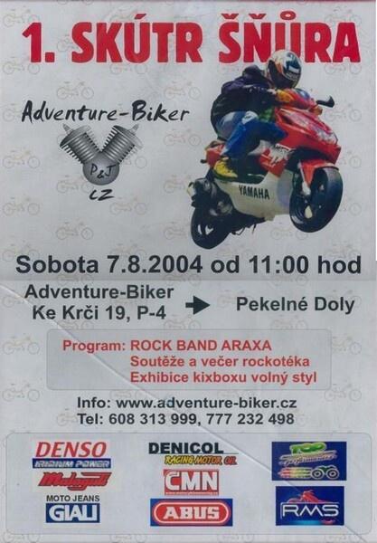 SKÚTRŠŇŮRA 2004